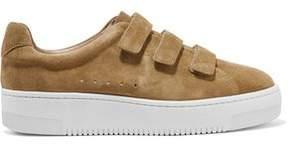 Sandro Amazing Suede Platform Sneakers