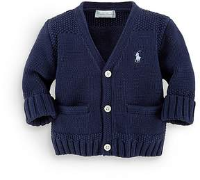 Ralph Lauren Childrenswear Boys' Combed Cotton Sweater - Baby
