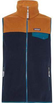 Patagonia Snap-T Colour-Block Synchilla Fleece Gilet