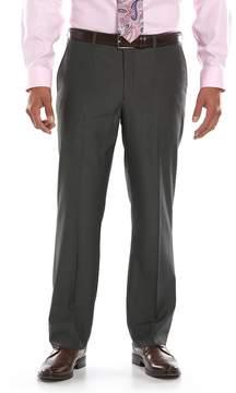 Apt. 9 Men's Slim-Fit Black Pindot Flat-Front Suit Pants
