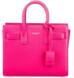 Saint Laurent Nano Sac De Jour w/ Tags - PINK - STYLE