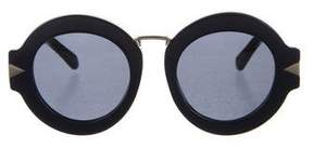 Karen Walker Maze Round Sunglasses w/ Tags