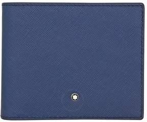 Montblanc Sartorial 8CC Leather Wallet- Indigo