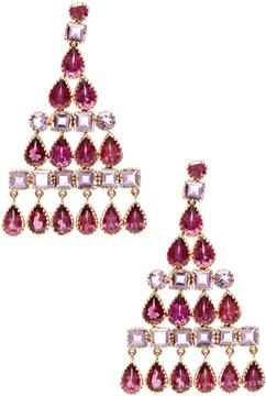 Amrita Singh Women's Nila 14K Yellow Gold, Tourmaline & Amethyst Earrings