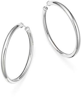 Bloomingdale's Sterling Silver Endless Tube Hoop Earrings - 100% Exclusive