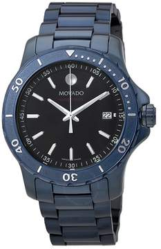 Movado Series 800 Blue Stainless Steel Men's Watch