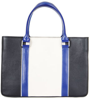 BCBGMAXAZRIA Imani Color-Blocked Leather Satchel