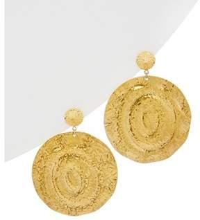 Devon Leigh 18k Plated Drop Earrings.