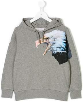 Marcelo Burlon County of Milan Kids eagle print hoodie
