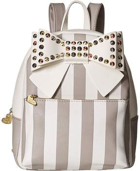 Betsey Johnson Studded Bow Backpack Backpack Bags