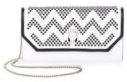 BVLGARI BVLGARI x Nicholas Kirkwood Serpenti Forever Studded Leather Chain Clutch