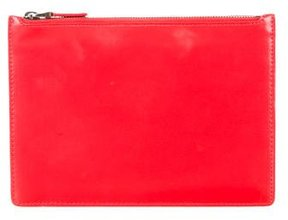 Helmut Lang Leather Zip Pouch