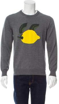 J.W.Anderson Lemon Intarsia Wool Sweater