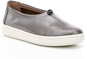 Eileen Fisher Sydney Metallic Suede Slip-On Sneakers