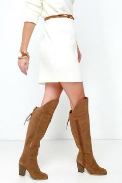 Sbicca Tall Suede Boot