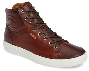 Ecco Men's Soft 7 High Top Sneaker