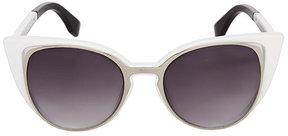 Betsey Johnson Openwork Cat Eye Sunglasses