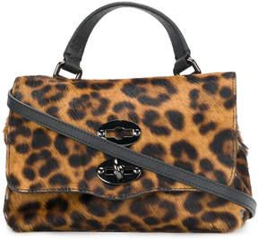 Zanellato leopard print mini bag
