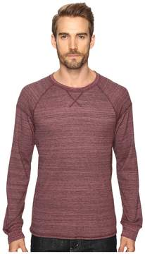 Alternative Eco Space Dye Thermal Onboard Crew Neck Men's Clothing