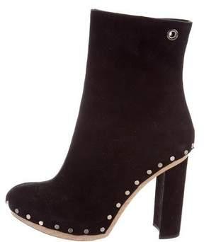 Proenza Schouler Studded Suede Boots