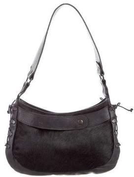 Barbara Bui Ponyhair & Leather Shoulder Bag