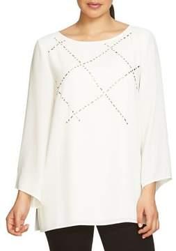 Chaus Long-Sleeve Embellished Blouse