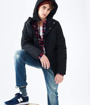 Aeropostale Solid All-Weather Jacket