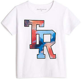 True Religion TODDLER/LITTLE KIDS WATERCOLOR EMBROIDERED GRAPHIC TEE