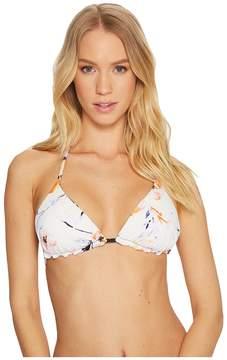 Bikini Lab THE True Watercolors Reversible Triangle Top Women's Swimwear