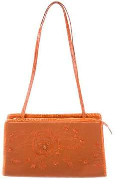 Alberta Ferretti Embellished Shoulder Bag
