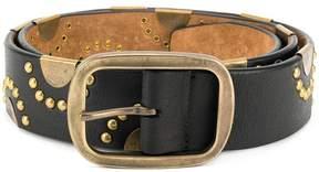 DSQUARED2 classic studded belt