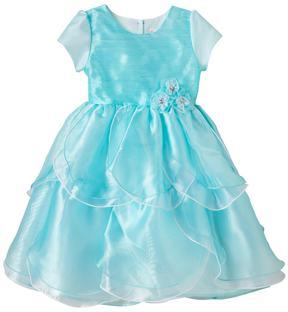 Nannette Toddler Girl Nanette Organza Petal Dress