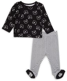 Petit Lem Baby's Two-Piece Pant and Top Set