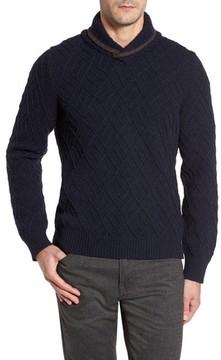 Luciano Barbera Men's Textured Wool Sweater