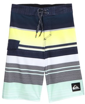 Quiksilver Boy's Everyday Stripe Board Shorts