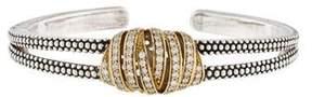 Lagos Embrace Diamond Cuff Bracelet