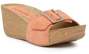 Cordani Arista Platform Wedge Jeweled Sandal
