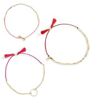BaubleBar Cher 3-Pack Bracelets