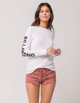 Billabong Lite Hearted Womens Ripped Denim Shorts