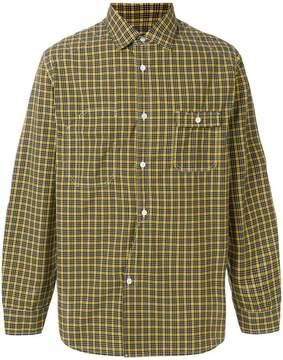 Junya Watanabe checked button-down shirt