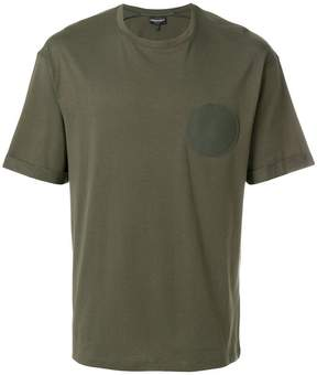 Emporio Armani circle patch T-shirt