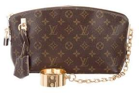 Louis Vuitton Monogram Fetish Lockit Clutch - BROWN - STYLE