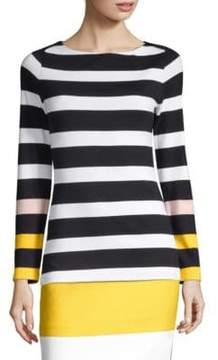 BOSS Elive Striped Top