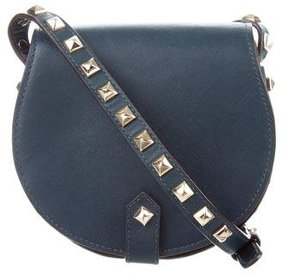 Rebecca Minkoff Skylar Studded Crossbody Bag - BLUE - STYLE