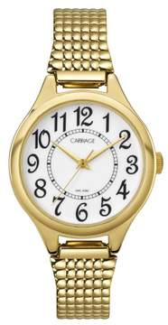 Timex Carriage by Women's Carolyn Watch, Gold-Tone Stainless Steel Expansion Band