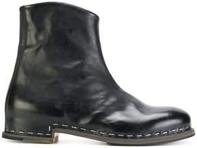 Premiata classic zipped boots