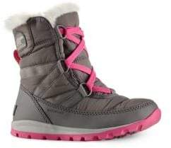 Sorel Toddler's & Kid's Whitney Short Lace Quarry Boots