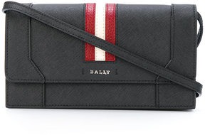 Bally stripe shoulder bag