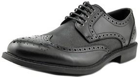 Robert Wayne Jace Men Wingtip Toe Leather Black Oxford.