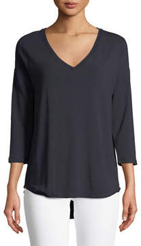 Neiman Marcus Majestic Paris for French Terry Relaxed Top